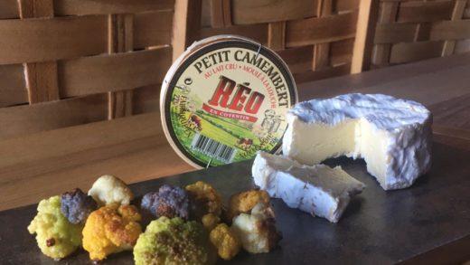 Petit Camembert e cavolfiore croccante